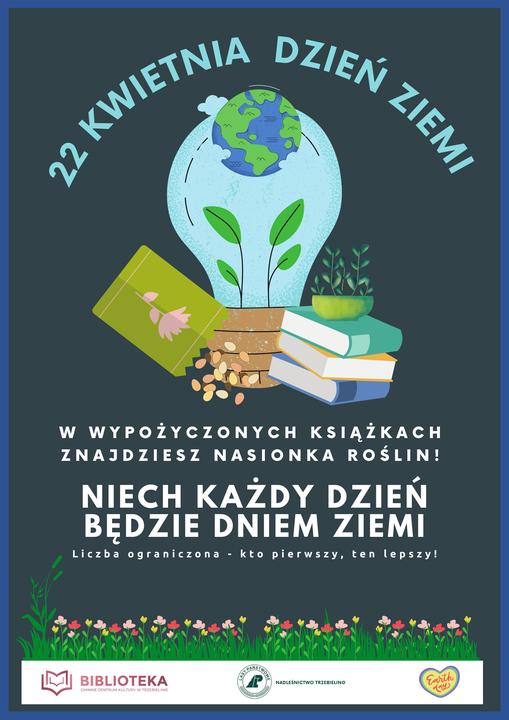 Plakat promujący Dzień Ziemi